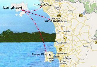 Langkawi Ferry Routes