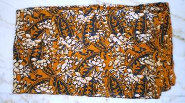 Silk batik that we purchased from Atma Alam